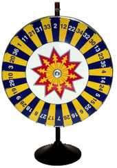 Number Wheel of Chance